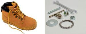 Կոշիկներ, գործիքներ