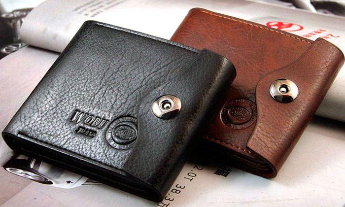 Սև և շագանակագույն դրամապանակներ